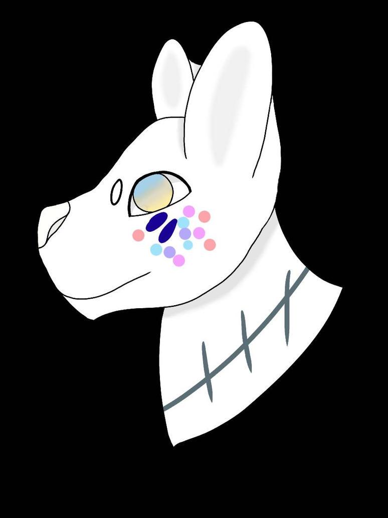 Rainbow Dog (AT) by hidragons123