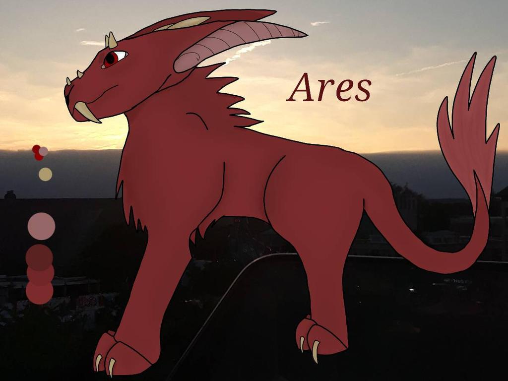 Da'Ren Ares by hidragons123