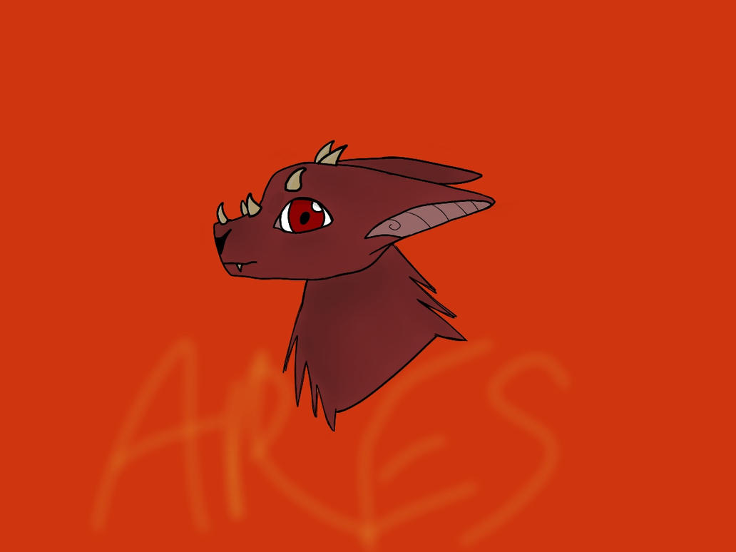 Baby Ares - Da'Ren by hidragons123