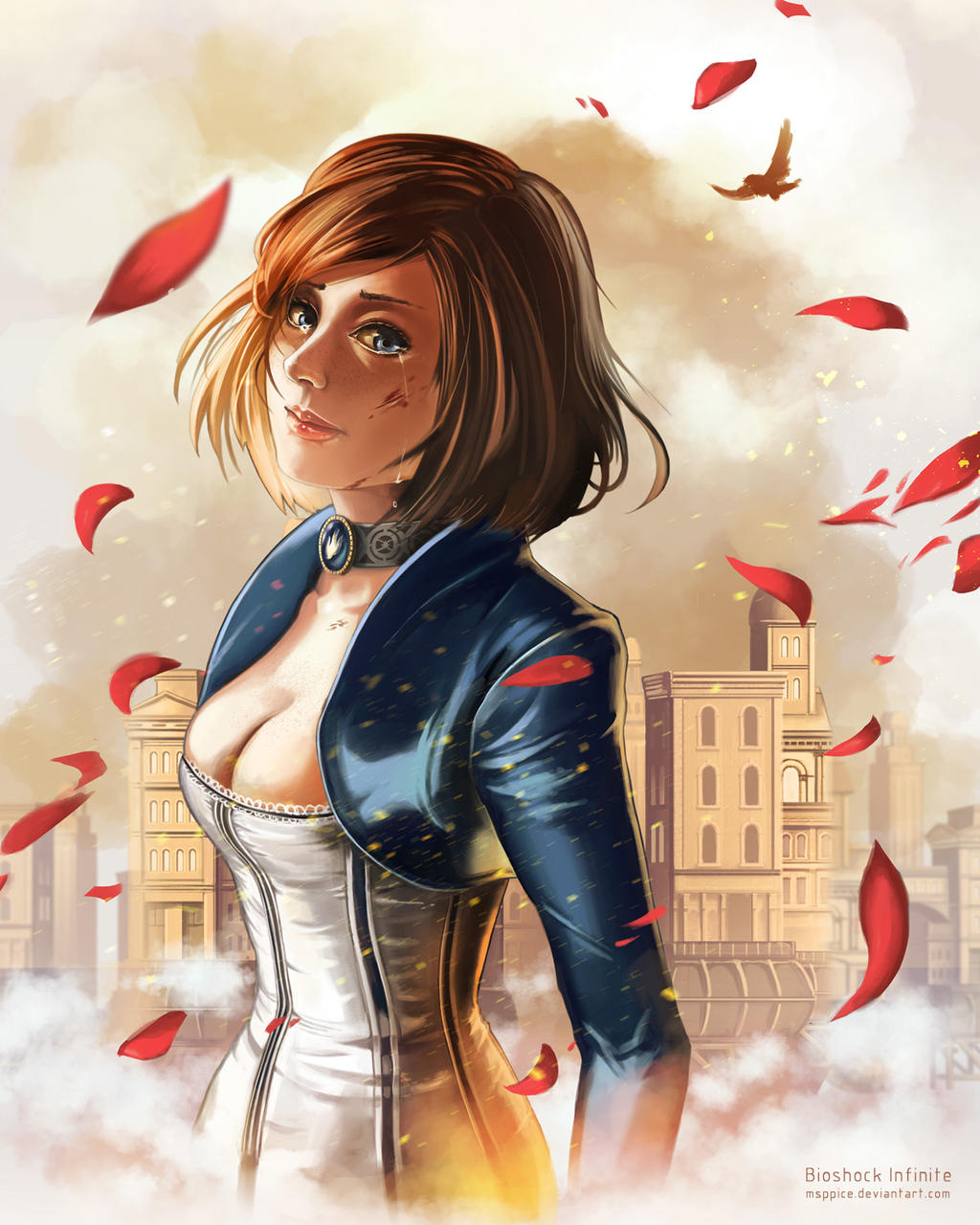 Bioshock Infinite - Elizabeth by mSppice