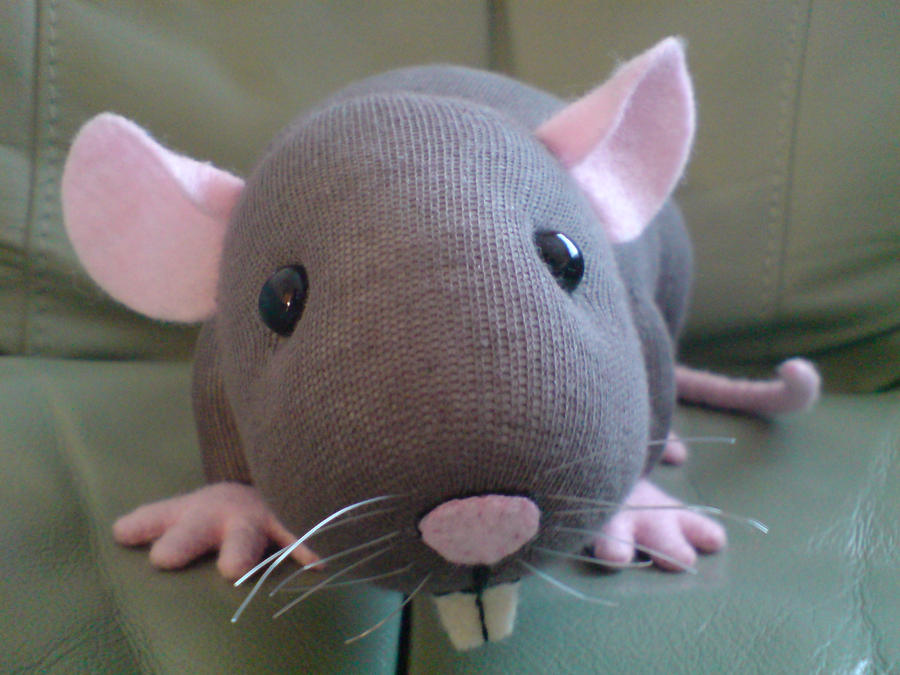 Amigurumi Rat : Pompous pam the rat booletes