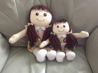 Big sister/Little Sister Dolls