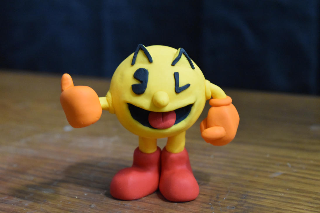 Pac-Man Clay by kerobyx
