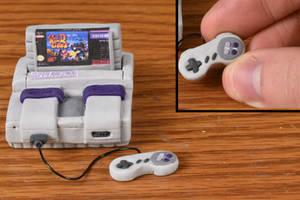 Tutorial - Miniature Super Nintendo System - Clay by kerobyx