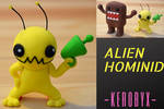 Alien Hominid - Clay Figure