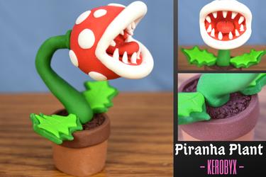 Piranha Plant - Super Smash Ultimate Clay Figure