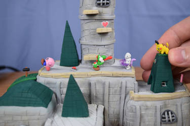 Battle On Hyrule Castle Stage! Polymer Clay