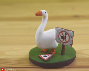 The Goose From Untitled Goose Game