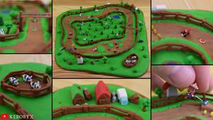 Moo Moo Meadows - Mario Kart