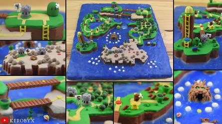 Super Mario World Complete Map