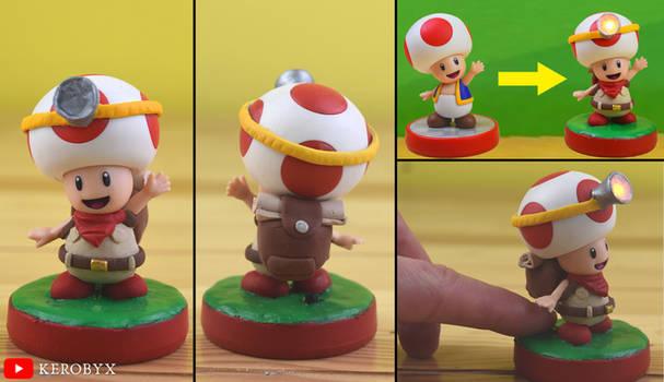 Captain Toad Treasure Tracker Custom Amiibo