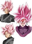Black Goku SsjR by Gokussj20