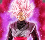 Goku Black Super Saiyan Rose by Gokussj20