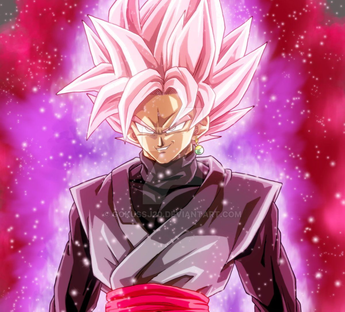 Dragon Ball Super Wallpaper 1080p Full Size: Goku Black Super Saiyan Rose By Gokussj20 On DeviantArt