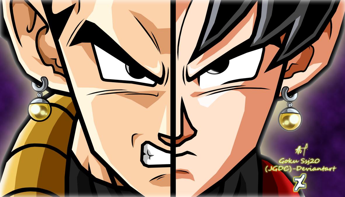 Vegeta and Goku Fusion Xeno SuperDBH by Gokussj20