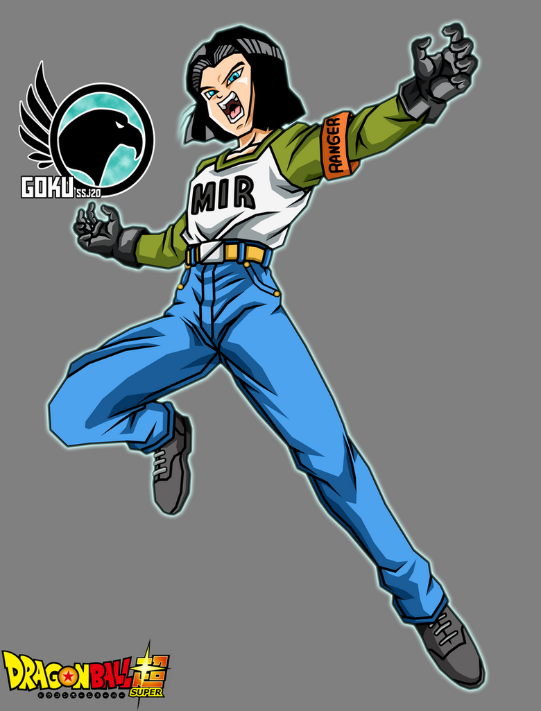 Android 17 DBS V2 by Gokussj20