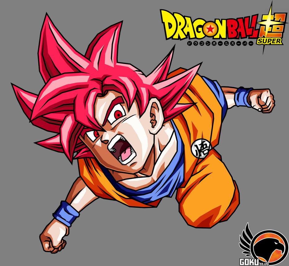 Goku SsjG Traje Clasico by Gokussj20