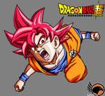 Goku SsjG Traje Clasico