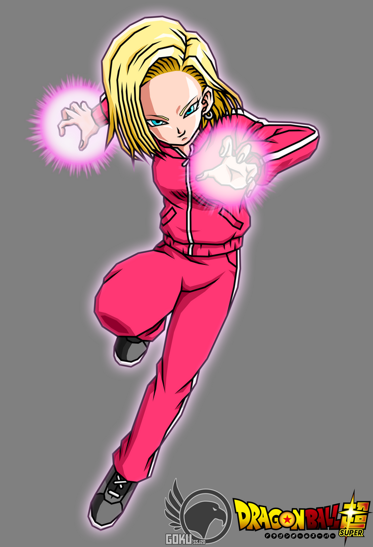 Android 18 DBS V2  y by Gokussj20