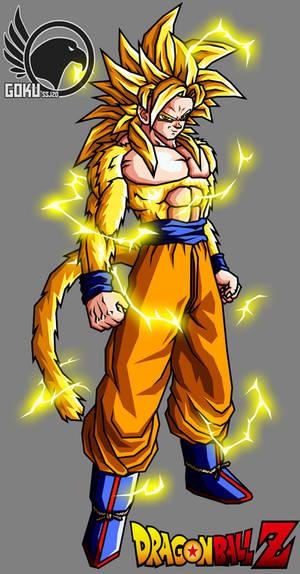 Goku Ssjgssj4 Saga Kami Tho Kami DBZ