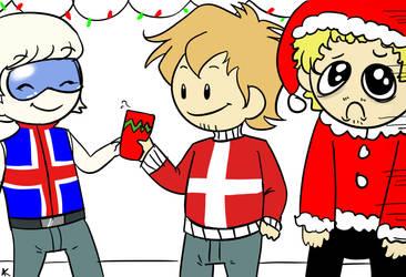Nordic Christmas part 1 by hanabixwhitexwolf