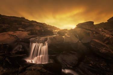 Ribbon falls by carlosthe