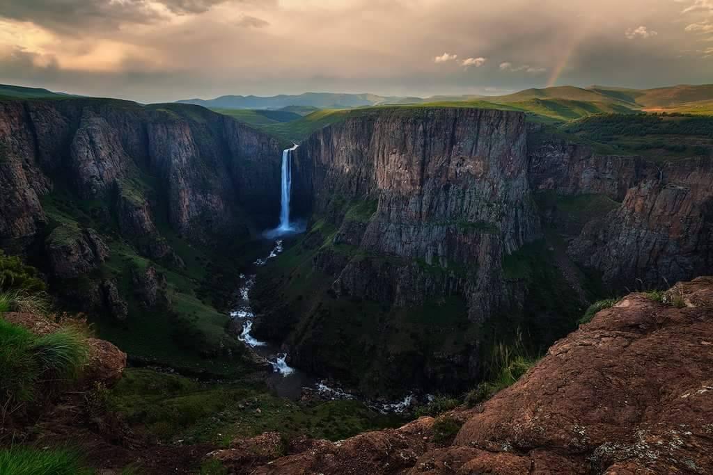 Maletsunyane Falls by carlosthe