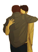 LET'S HUG IT OUT, CAS by Banoranga