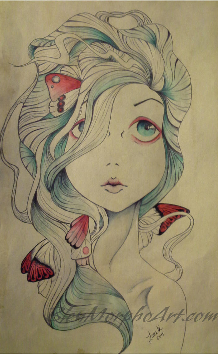 Picking the Wings off Butterflies by BleuMorphoArt