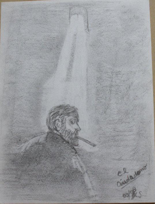 Retrato Orson Welles by ldlsantos