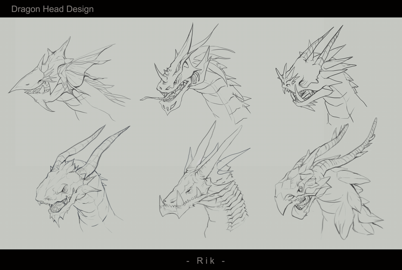 Dragon head concept trainning by hientruong95