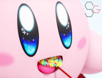 [MMD]Kirby's lollipop by SteveGamez