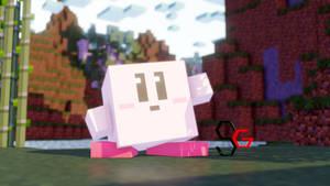 [MMD]Minecraft Block KIRBY