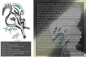 Xeno ~ Profile (needs to be updated) by Saphia-Xeno