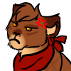 Lion Icon 14# by Saphia-Xeno