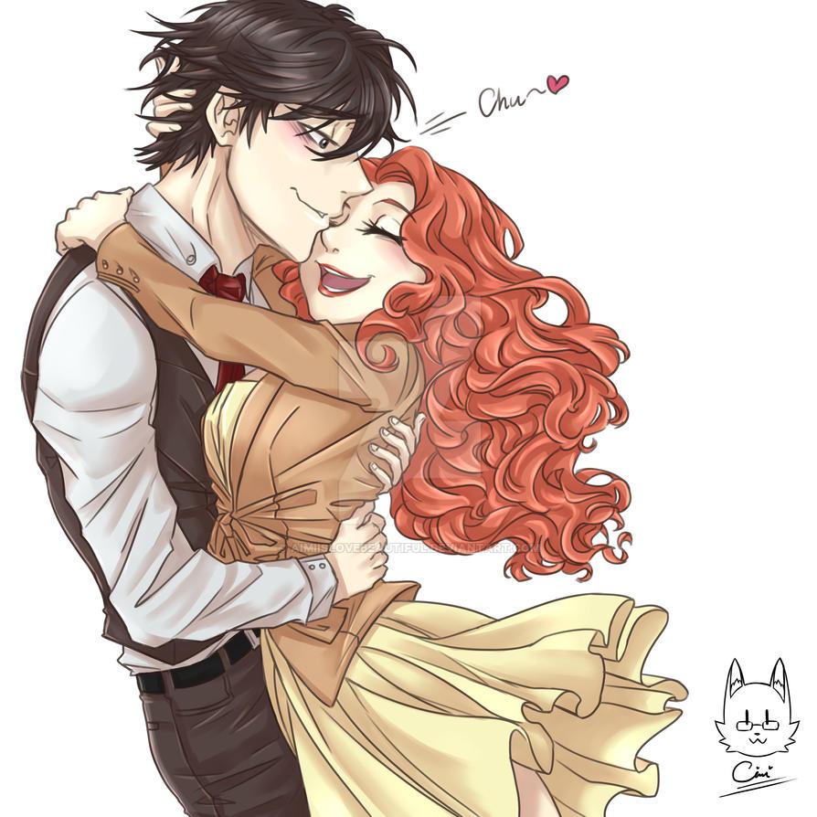 Jumin and RedMC HUGS by AimiisLoveBeautiful