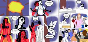 ENF - Domino vs. Red She-Hulk