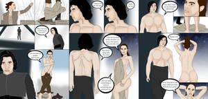 ENF - Reylo Force Bond gone wrong - Full Comic