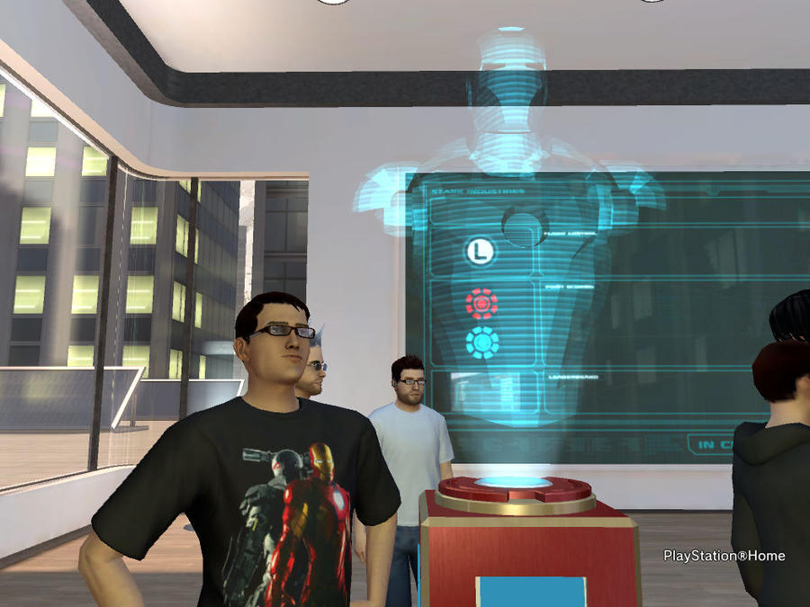 Playstation Home Iron Man 2 By Jchdarkness29 On Deviantart