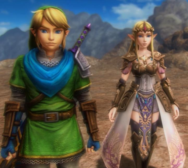 Link And Zelda By Rune33 On Deviantart