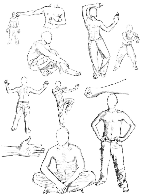 Anatomy Practice Sketch Dump By Ravenousdrake On Deviantart