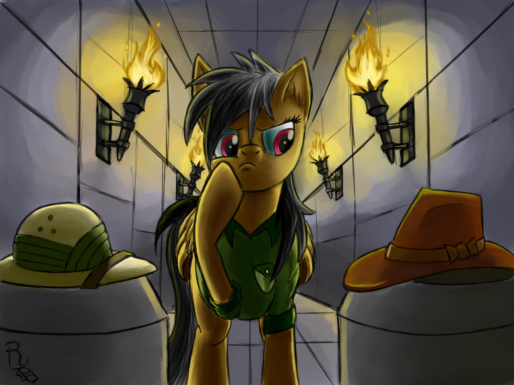 Day 29- Daring Do by RavenousDrake