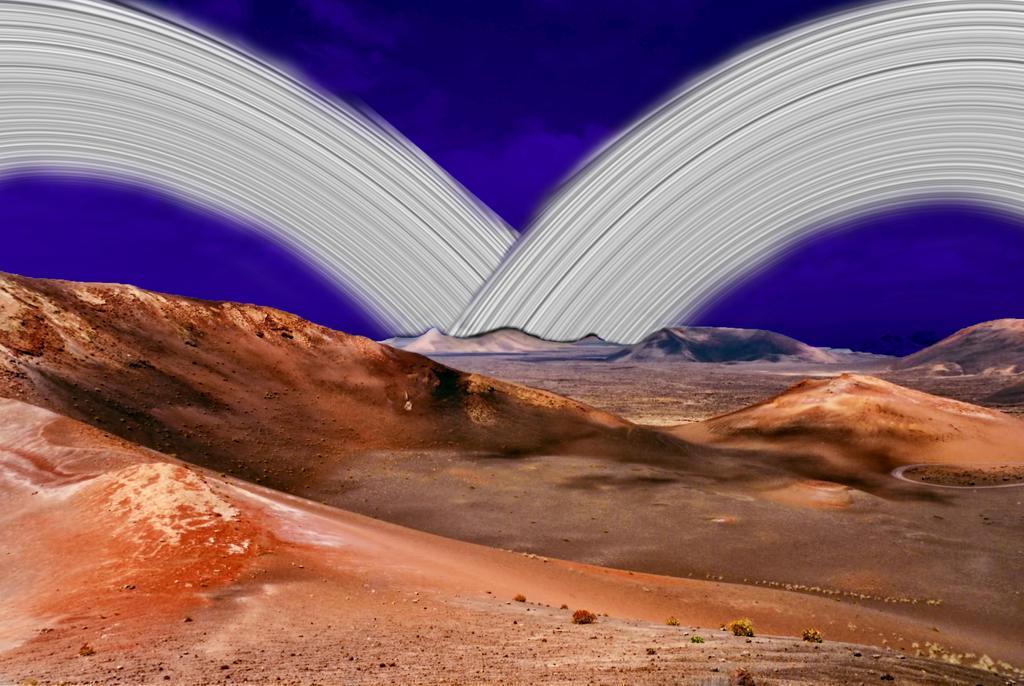 Va'Silla desert, Antario by HikariShien