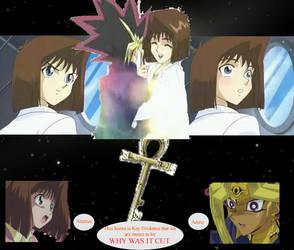 Atemu and Anzu desktop by HikariShien