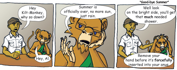 Good-bye to summer by drewlmckay