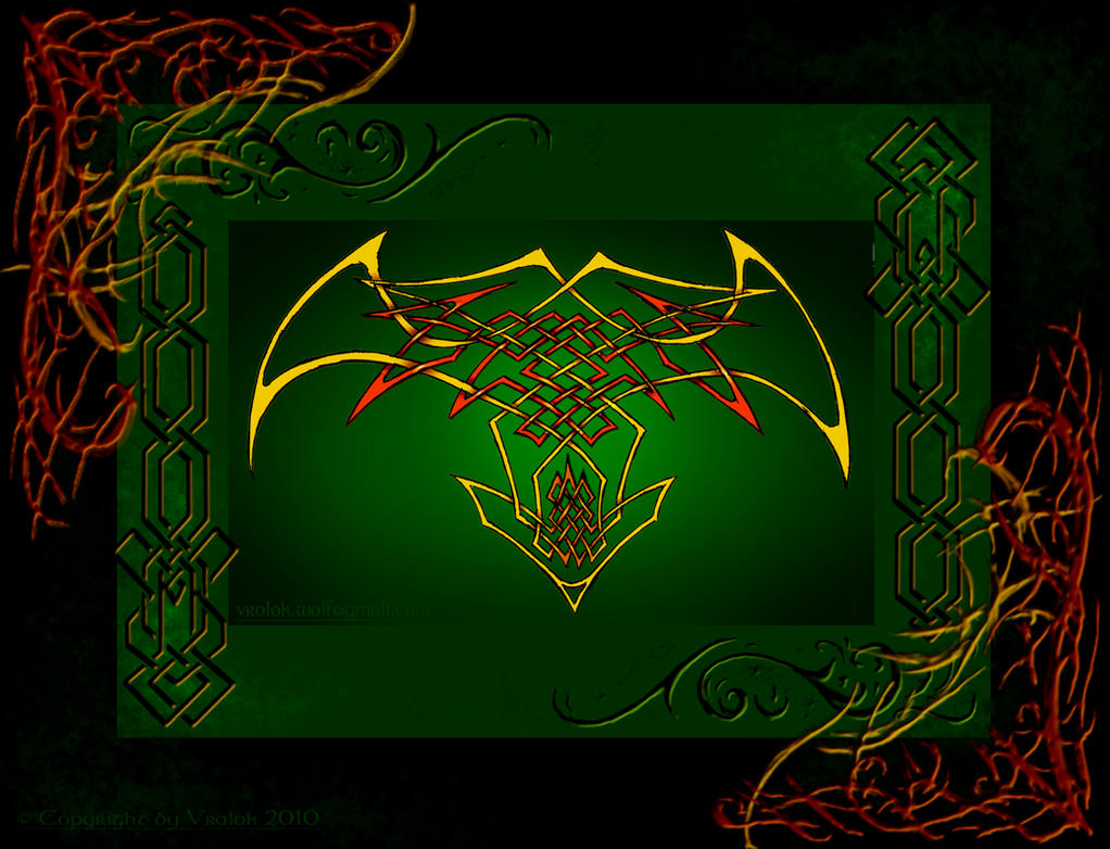 Celtic Knot Cross Wallpaper By Vrolok