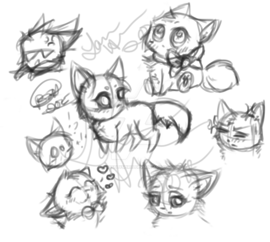 Random Doodles by ghostlyspirit
