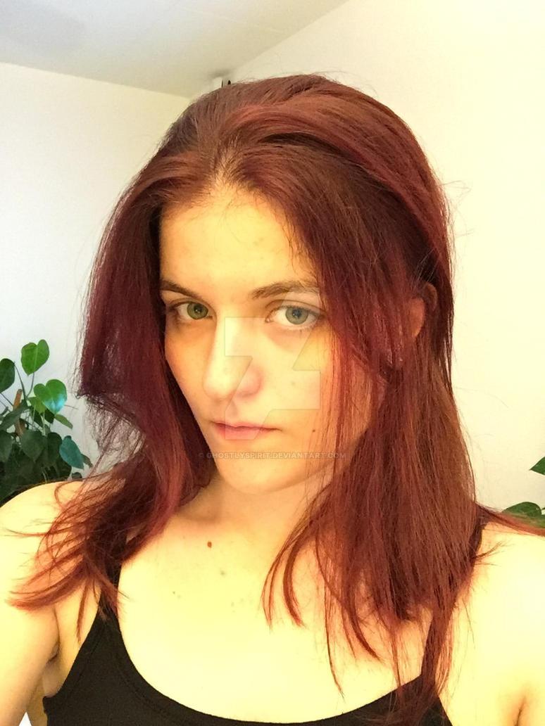 Hair Colored by ghostlyspirit