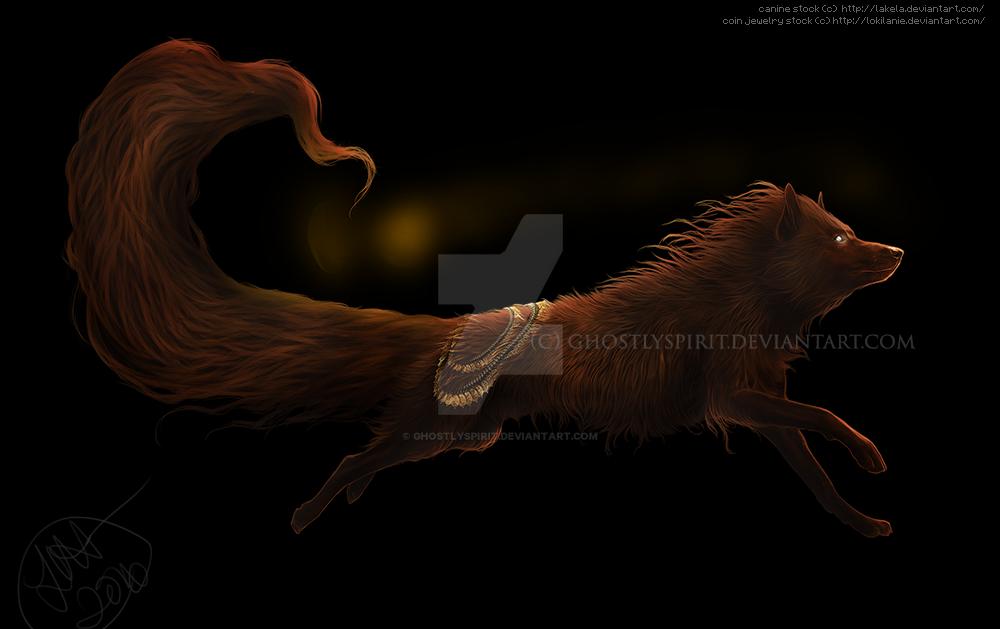 Running with Gold by ghostlyspirit