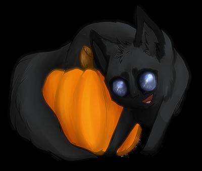 YCH: Pumpkin SOLD by ghostlyspirit